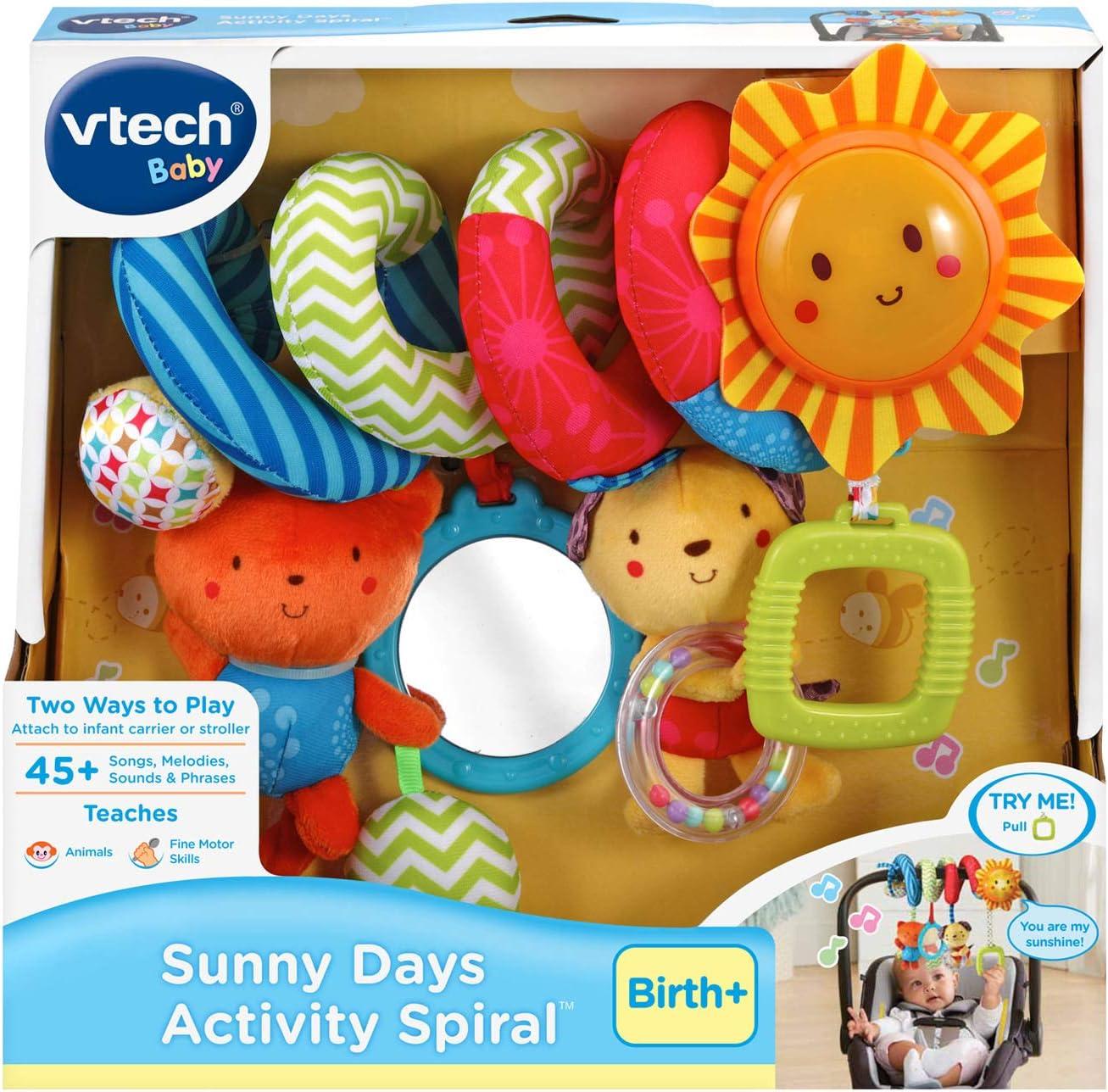 VTech Light and Spin Tug-a-Bug