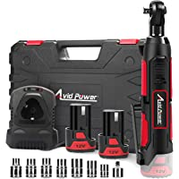 Avid Cordless Electric Ratchet Wrench with2 Batteries