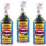 El Yucateco Green Habanero Hot Sauce 8 oz. (3-Pack)