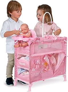 Decuevas Toys - Armario cambiador Maria plegable, multicolor (53023)