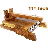 Tortilla Press Wood Tortilladora de Madera Barnizada Mezquite Tortilla Press Heavy Duty 9.5x 9