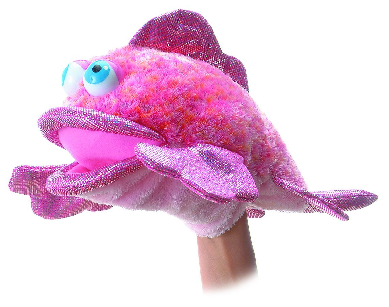 "Aurora Coral Fish Body Puppet - 12"""