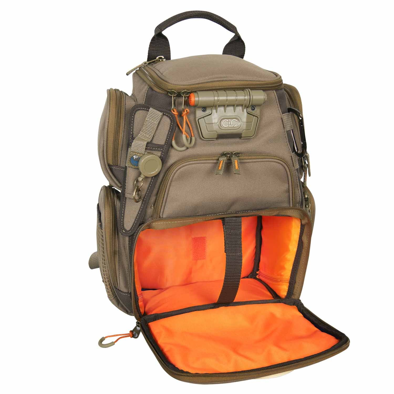 Wild River by CLC Custom Leathercraft  WN3503 Tackle Tek Recon Lighted Compact Backpack (Trays Not Included) by Custom Leathercraft