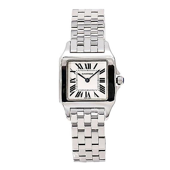 Cartier Santos Demoiselle Cuarzo Mujer Reloj w25065z5 (Certificado) de Segunda Mano