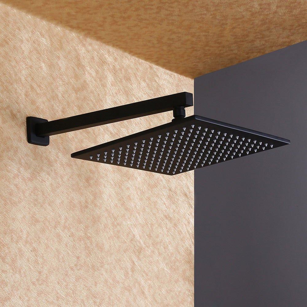 Robinet de douche encastr/é avec douchette Noir
