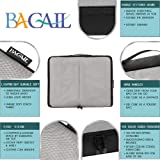 Bagail 6 Set Packing Cubes,3 Various Sizes Travel