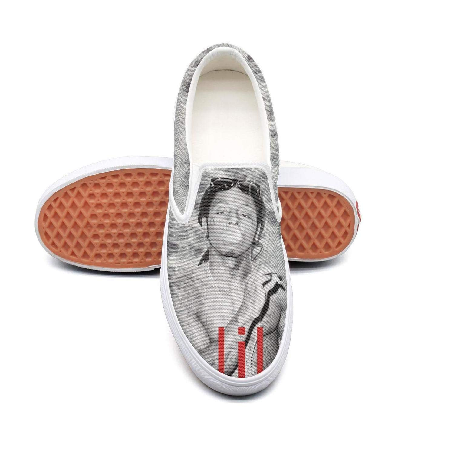 GAKIIER Fashion Boys Lil-Wayne-Ghost-Poster Walking Shoes for Mens
