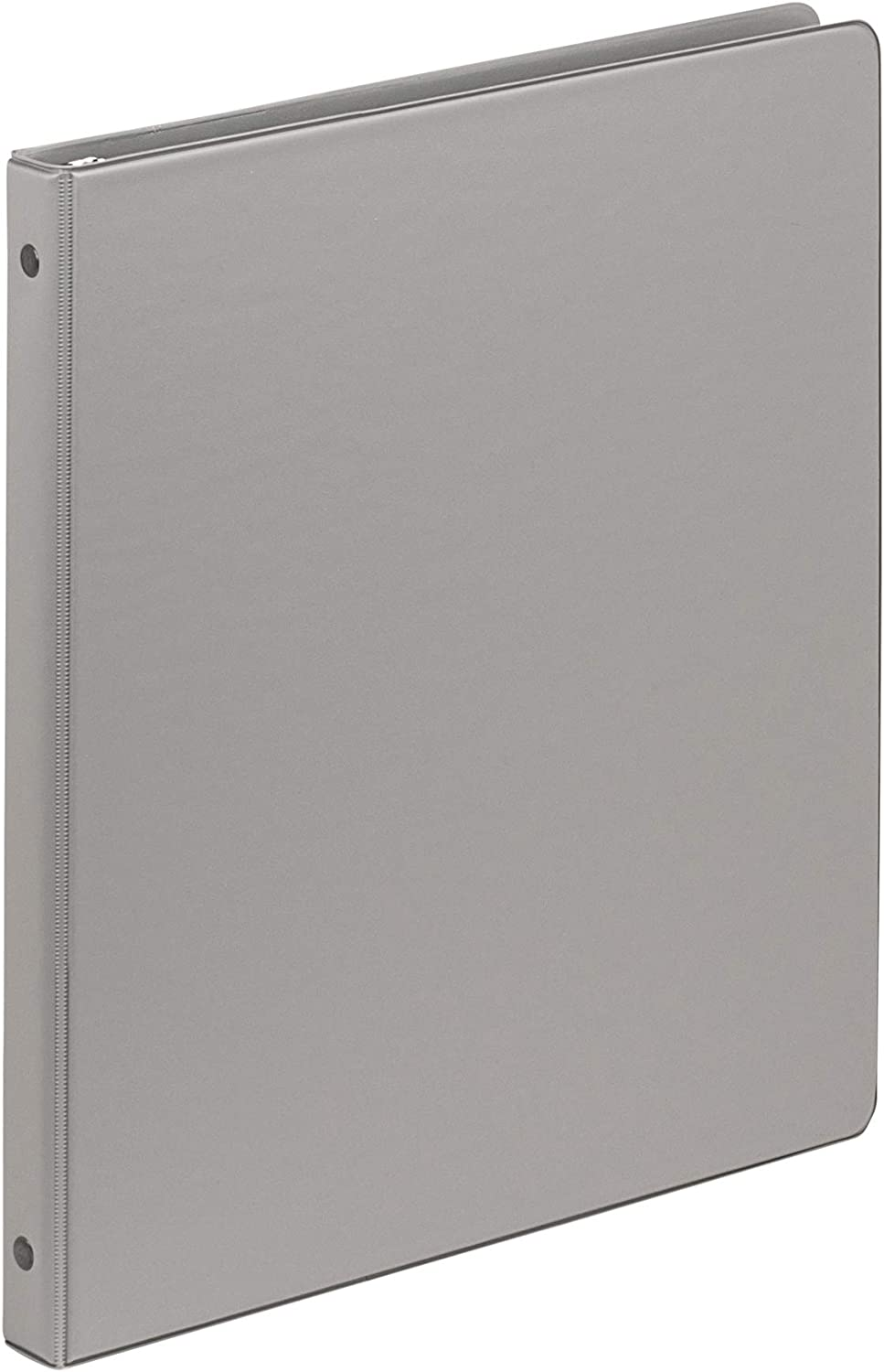 Samsill .5 Inch Value Document Storage 3 Ring Binder, Round Ring, 11 x 8.5 Inches, Gray (11111)