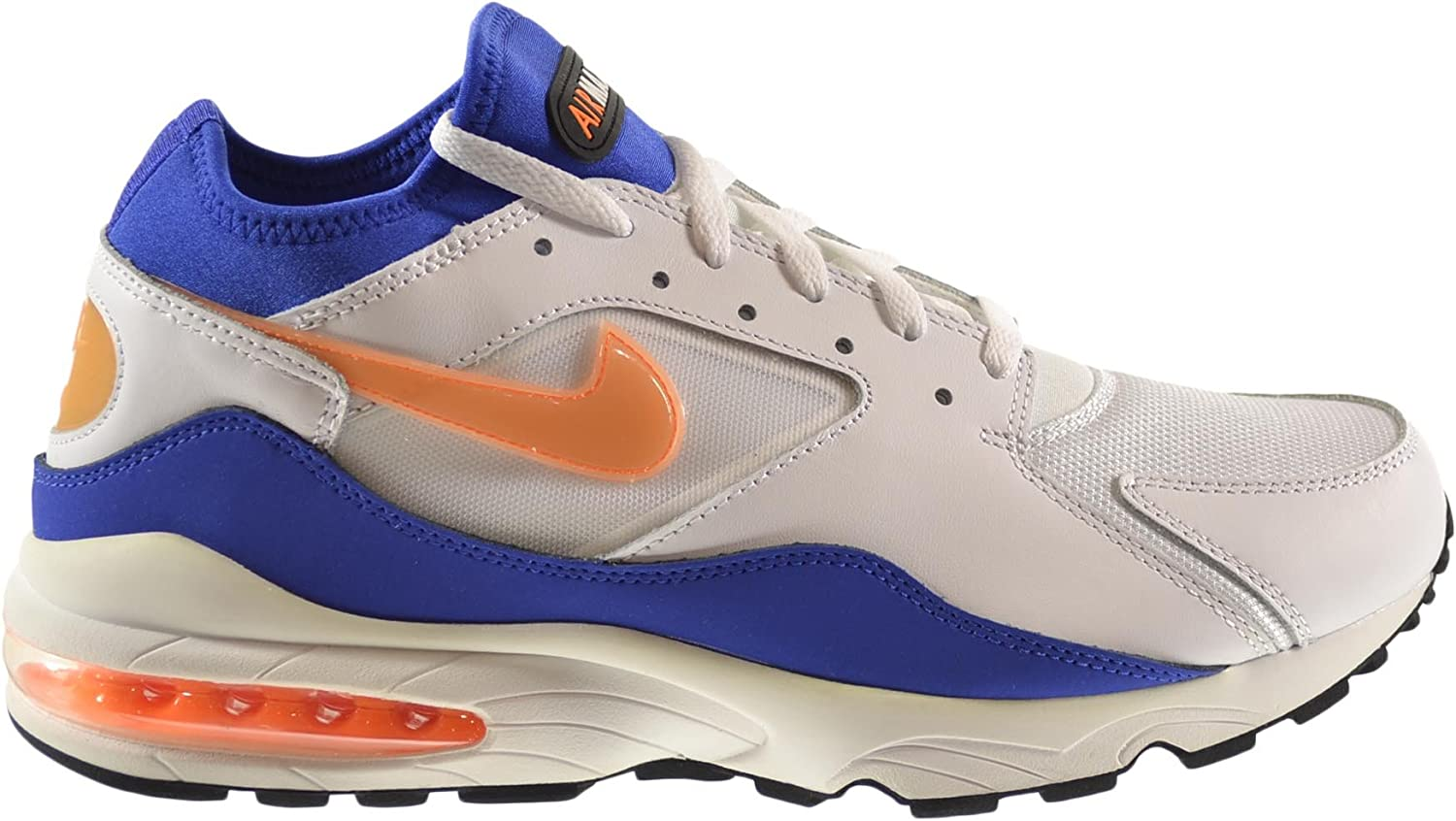 | Nike Air Max 93 Men's Shoes WhiteBright Citrus