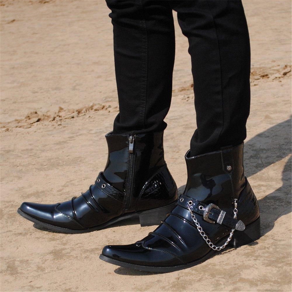 Männer martin stiefel europäische und amerikanische männer martin stiefel kurzen kurzen kurzen lauf - stiefel,schwarz,40 3b116f