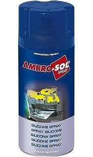 Ambro-Sol OL103 Silicona Spray, Transparente, 400 ML