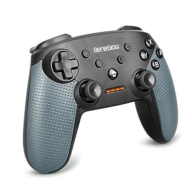 Hycarus Controlador de interruptor de Nintendo de, sensor de giroscopio incorporado y funciones de Turbo para el controlador de Nintendo Switch Pro, ...