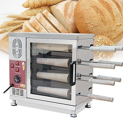Enshey Chimenea Cake Máquina Horno de Pan Tostador para Panadería Cafetería Panificadora