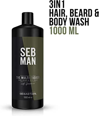 SEB MAN The Multi-Tasker Hair Beard and Body Wash