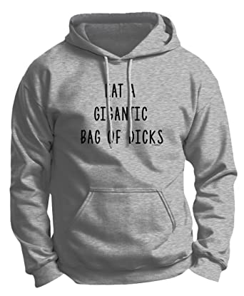 amazon com thiswear funny sarcasm gifts eat a gigantic bag of dcks