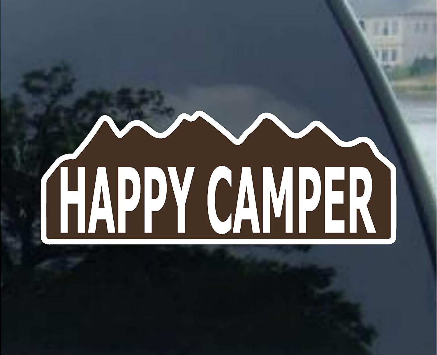 Funny Camping Bumper Stickers