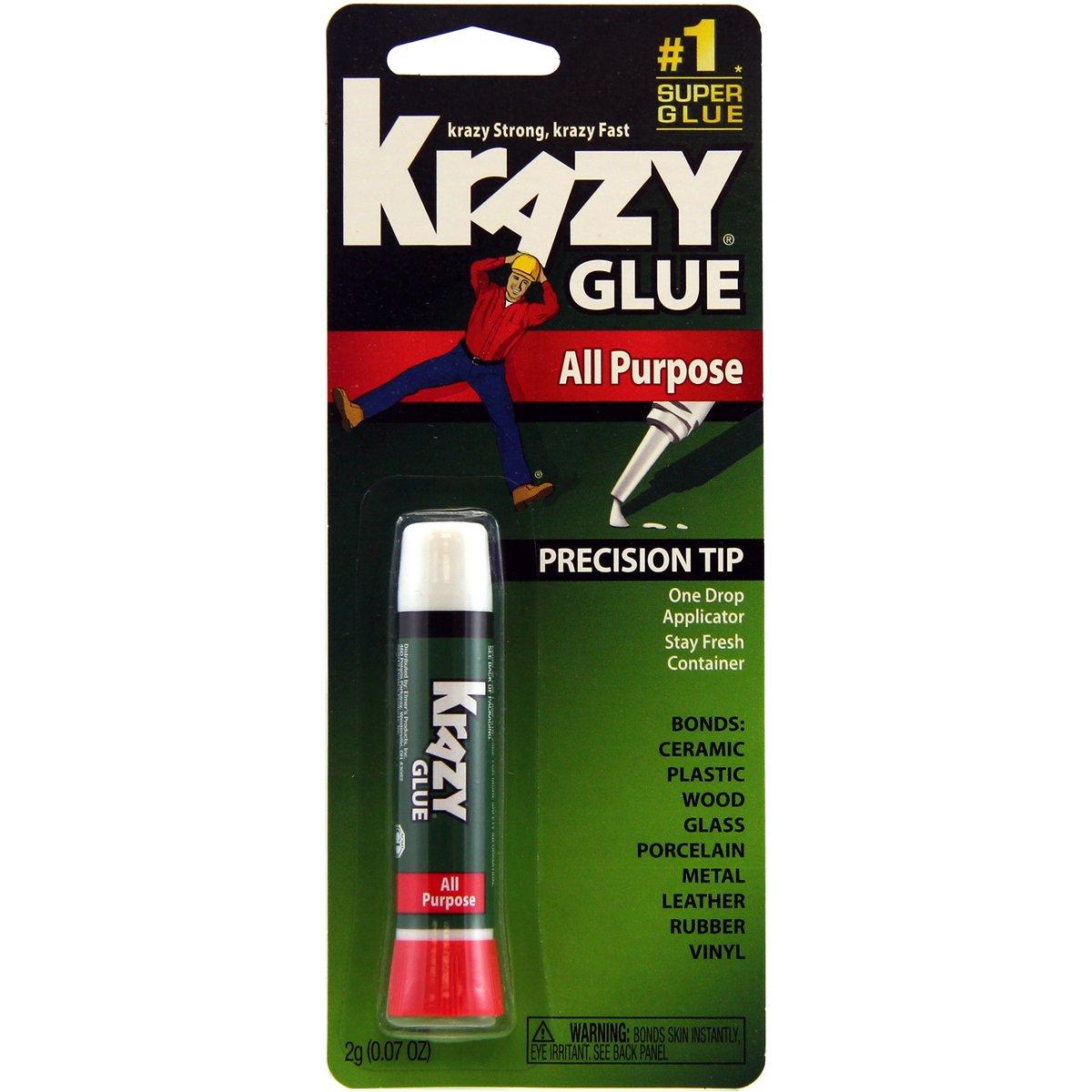 Elmers Instant Krazy Glue All Purpose-2 Grams Elmer' S Products Inc. KG58548R