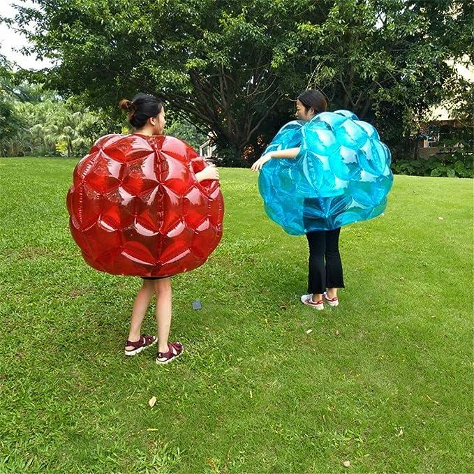 Hengyuanyi Balón de fútbol Inflable de Burbuja, Air Bumper Sumo ...