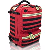 PARAMED'S Rescue & Tactical Backpack (Red) | Medium Capacity Basic Life Support (BLS) Backpack | EMS Rescue Medical…