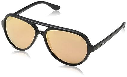 Amazon.com: Ray-Ban Mujer Espejo Cats 5000 Gafas de sol ...