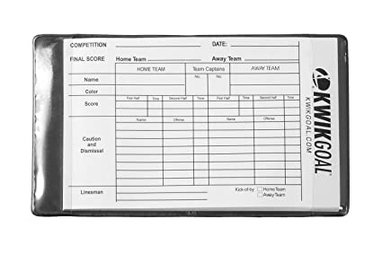 43c3f15f975 Image Unavailable. Image not available for. Color: Kwik Goal Referee Wallet