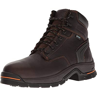 "Timberland PRO Men's Stockdale 6"" Alloy Toe Waterproof Industrial and Construction Shoe: Shoes"
