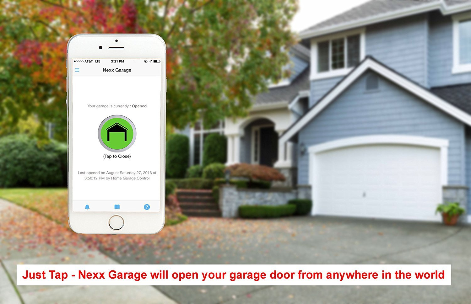 Nexx garage nxg 100 nxg remote compatible door openers control nexx garage nxg 100 nxg remote compatible door openers control using smart phone amazon alexa and google assistant enabled devices white amazon rubansaba