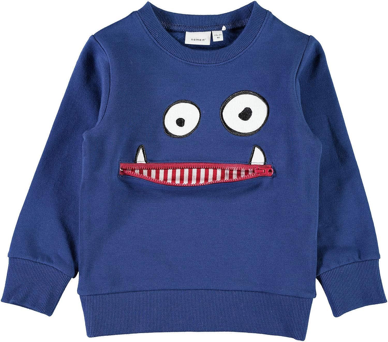 NAME IT Jungen Sweater NMMOLDRIK angeraut