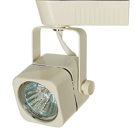 buy popular 8ada3 71d25 Direct-Lighting 50012 White MR16 Square Low Voltage Track Lighting Head