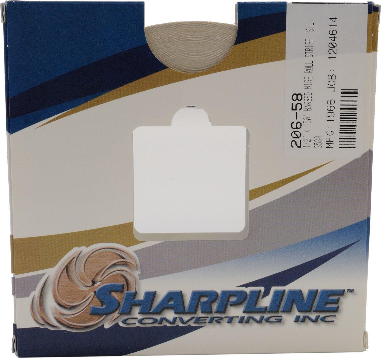 Trim Sharpline 206 Barbed Wire Accent Stripe Silver Metallic on ...