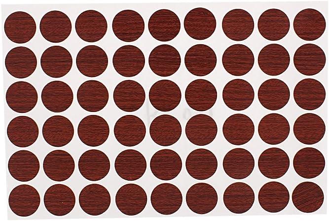 sourcing map Muebles Escritorio Auto-Adhesivo Cubre Tapas de ...