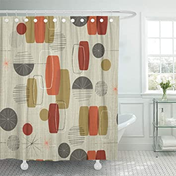 Semtomn Shower Curtain Waterproof Polyester Fabric 72 x 72 inches Retro on graduation gift ideas, kitchen shower favors, save the date gift ideas, kitchen art ideas, thanksgiving baby shower ideas, fashion gift ideas, christmas party gift ideas, halloween gift ideas, wedding gift ideas, cooking gift ideas, kitchen centerpieces ideas, first birthday gift ideas, rehearsal dinner gift ideas, kitchen shower cookies, kitchen gift baskets, adult birthday gift ideas, kitchen shower invitations, engagement party gift ideas,