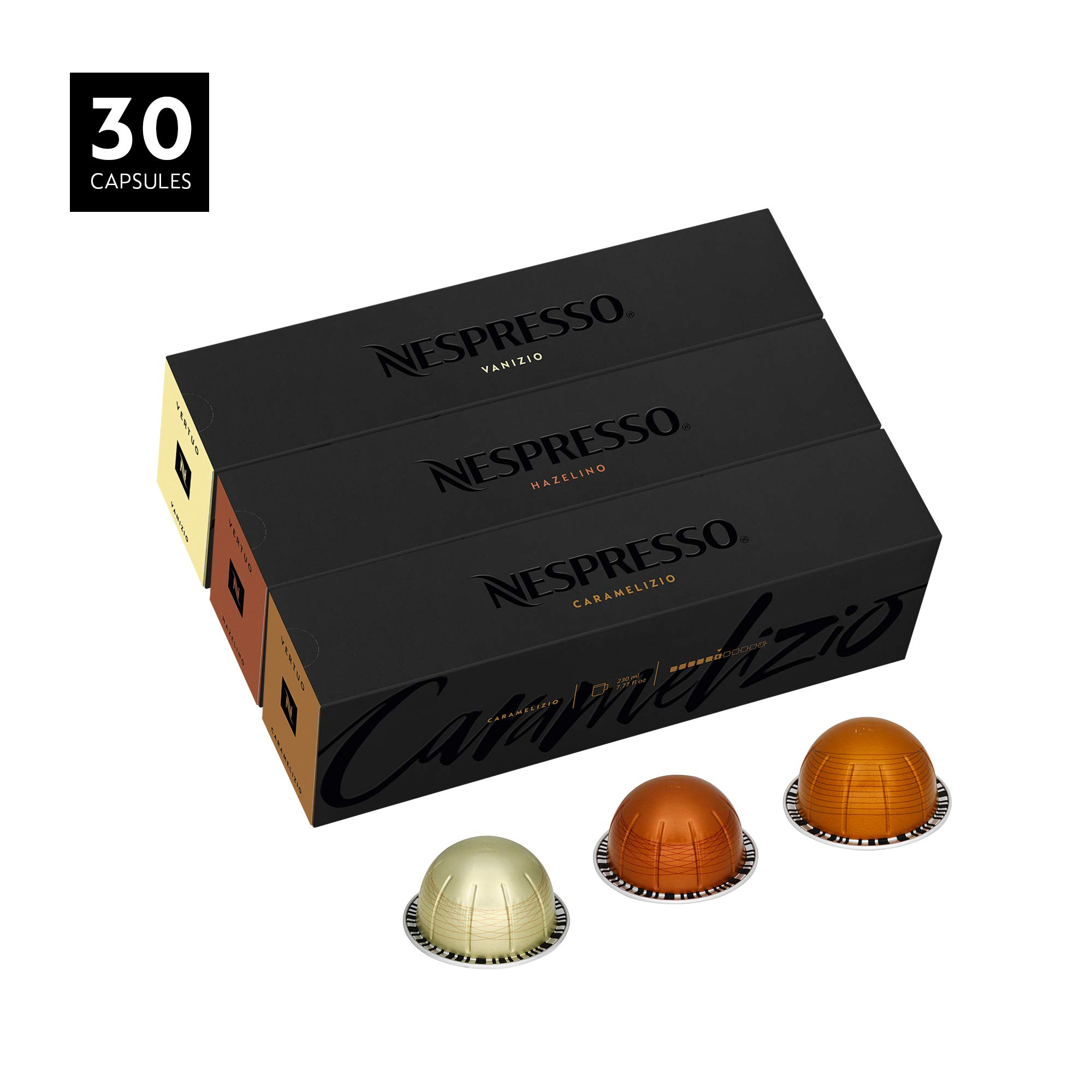 Nespresso VertuoLine Coffee, Flavored Assortment, 30 Capsules by Nespresso