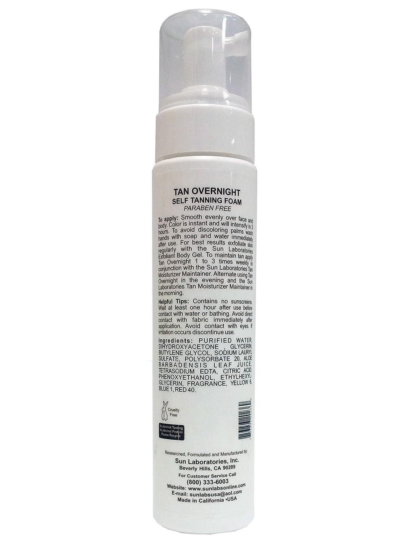 Self Tanning Foam Medium Self Tanner Mousse 8 oz Quick Drying Sun Tan Packaging May Very
