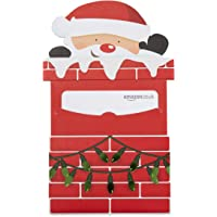 Amazon.co.uk Gift Card for Custom Amount in a Santa Chimney Reveal