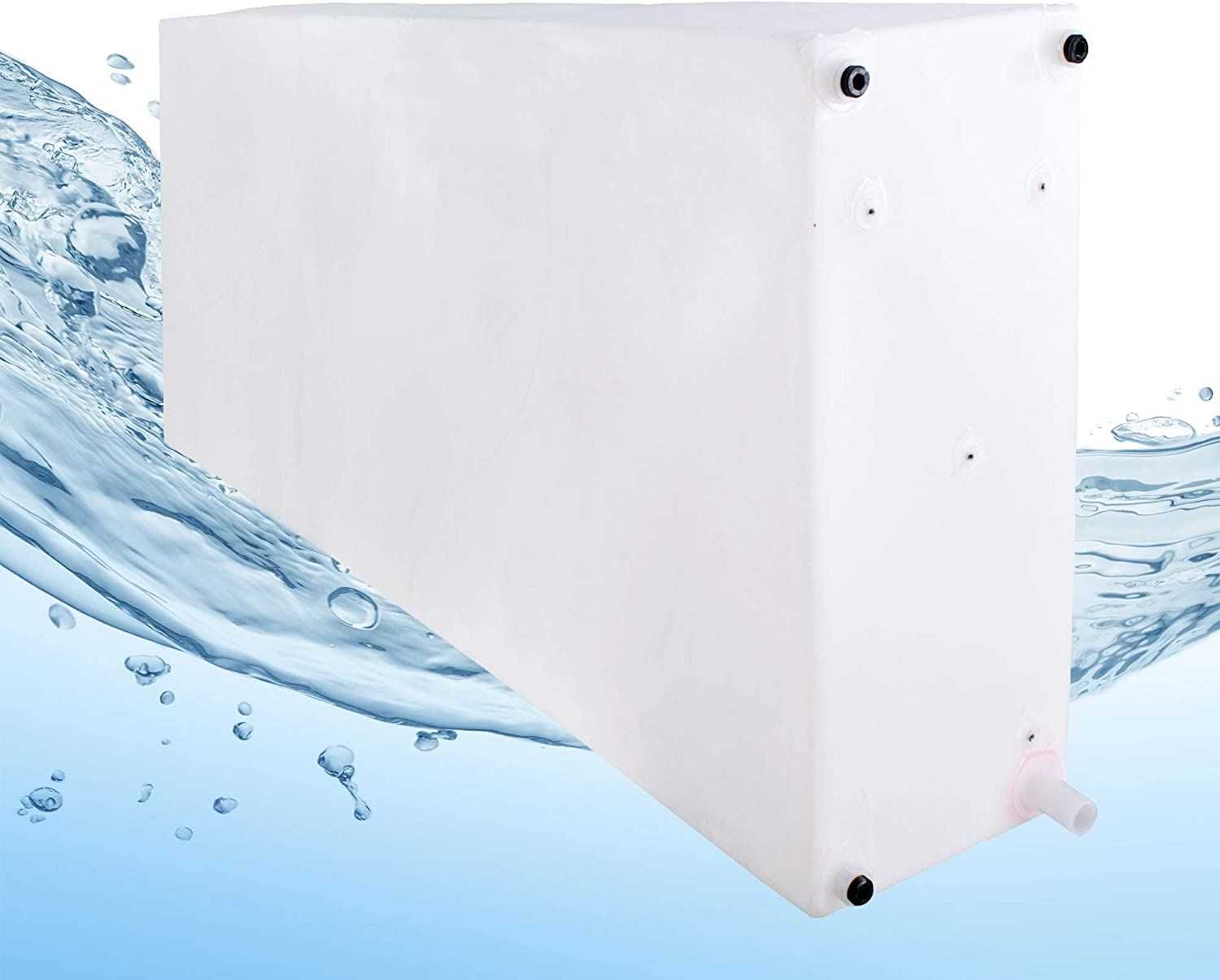 RecPro RV Water Tank | Gray Water Tank | RV Fresh Water Tank | Camper | Trailer (100 Gallon)
