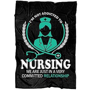 Amazon.com: TUCSTORE Nursing Soft Fleece Throw Blanket, Im ...