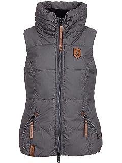 cc436fb303ae Naketano Damen Jacke New Kid In Town III Jacket  Amazon.de  Bekleidung