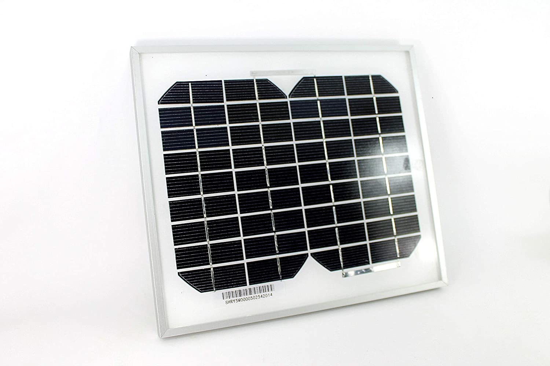 PK Green Solar Panel 5W 12V Monocrystalline for Caravan Camping Boat Shed Motorhome UKASNHKTN11381