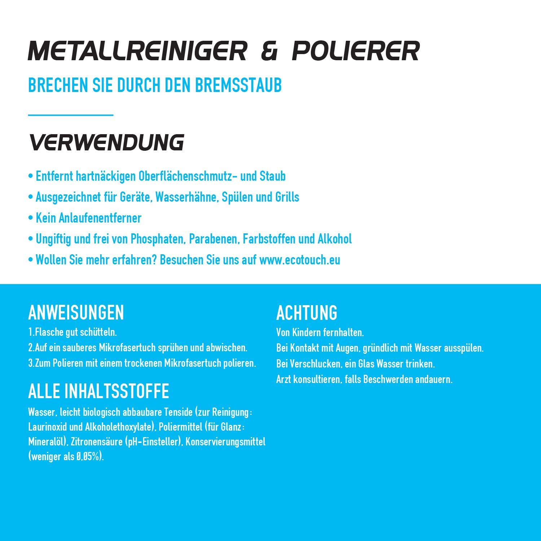 Limpiador de acero inoxidable - Cuidado del acero inoxidable ...