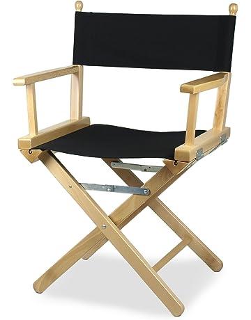 Nero di ricambio personalizzati Retro Tela per TRUCCATRICE sedia regista pieghevole /&
