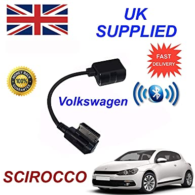 VW SCIROCCO Series Bluetooth Audio Adapter for MY 2009+ Generation 3  suitable for iPhone, Samsung, HTC, Sony, Nokia, by cablesnthings
