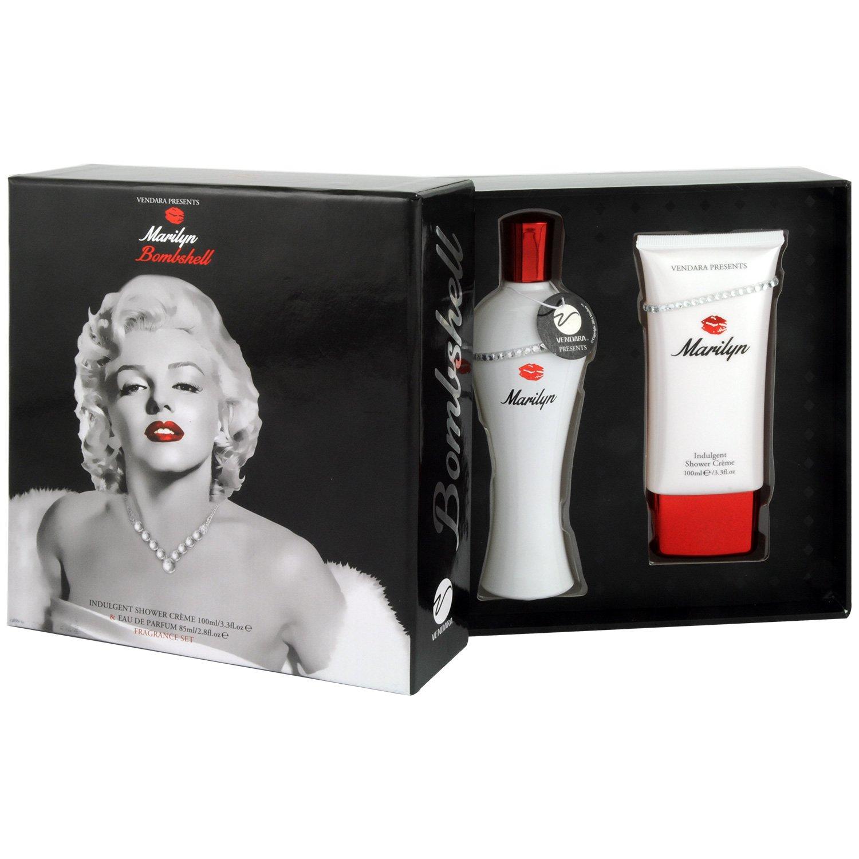 Marilyn Monroe Set femme/woman, Eau de Parfum, Duschgel, 1er Pack (1 x 0.235 l) MMO2897