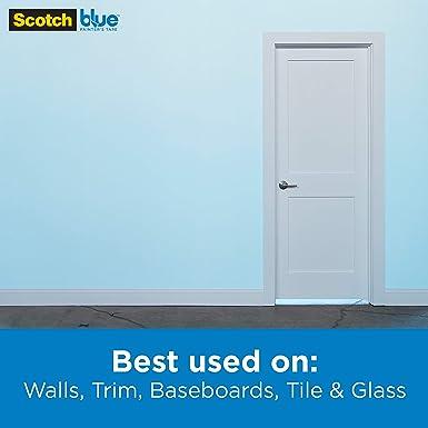 3M Scotch-Blue 2090 - Cinta de carrocero adhesiva para pintar ...