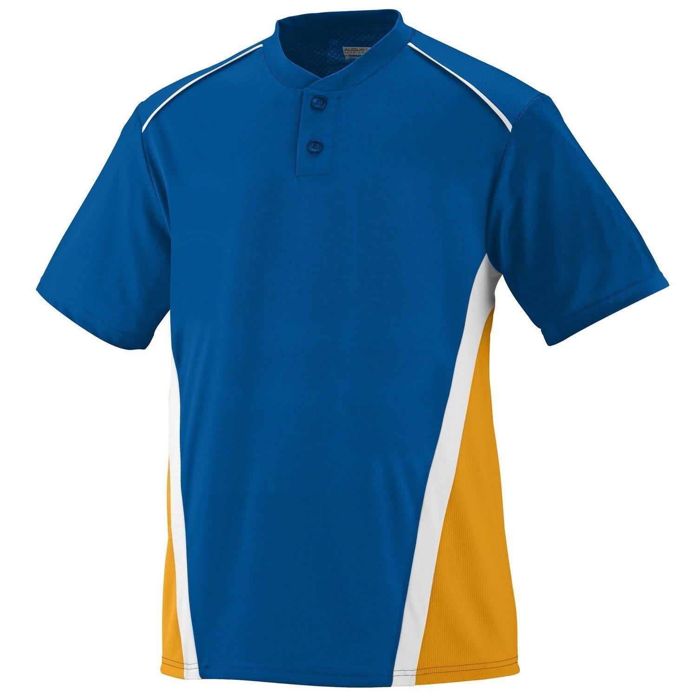 Augusta SportswearメンズRBI野球ジャージー B00E1YU37Q XX-Large ロイヤル/ゴールド/ホワイト ロイヤル/ゴールド/ホワイト XX-Large