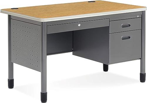 OFM Core Collection Mesa Series Steel Teacher's Desk