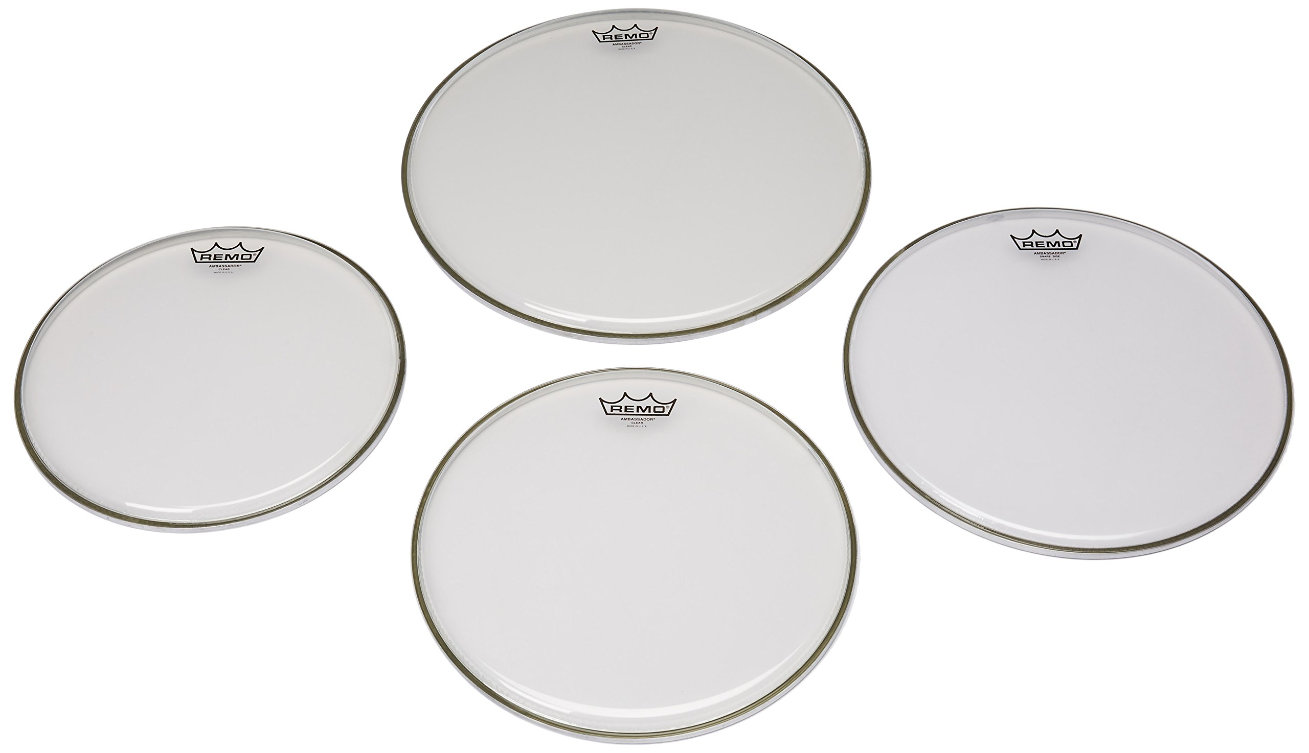 Remo Ambassador Clear Drumhead Pack by Other