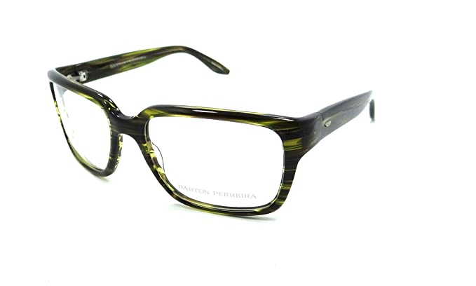 01ecea68335 Image Unavailable. Image not available for. Color  Barton Perreira Duran  Eyeglasses Frames 55-17-135 Fern ...