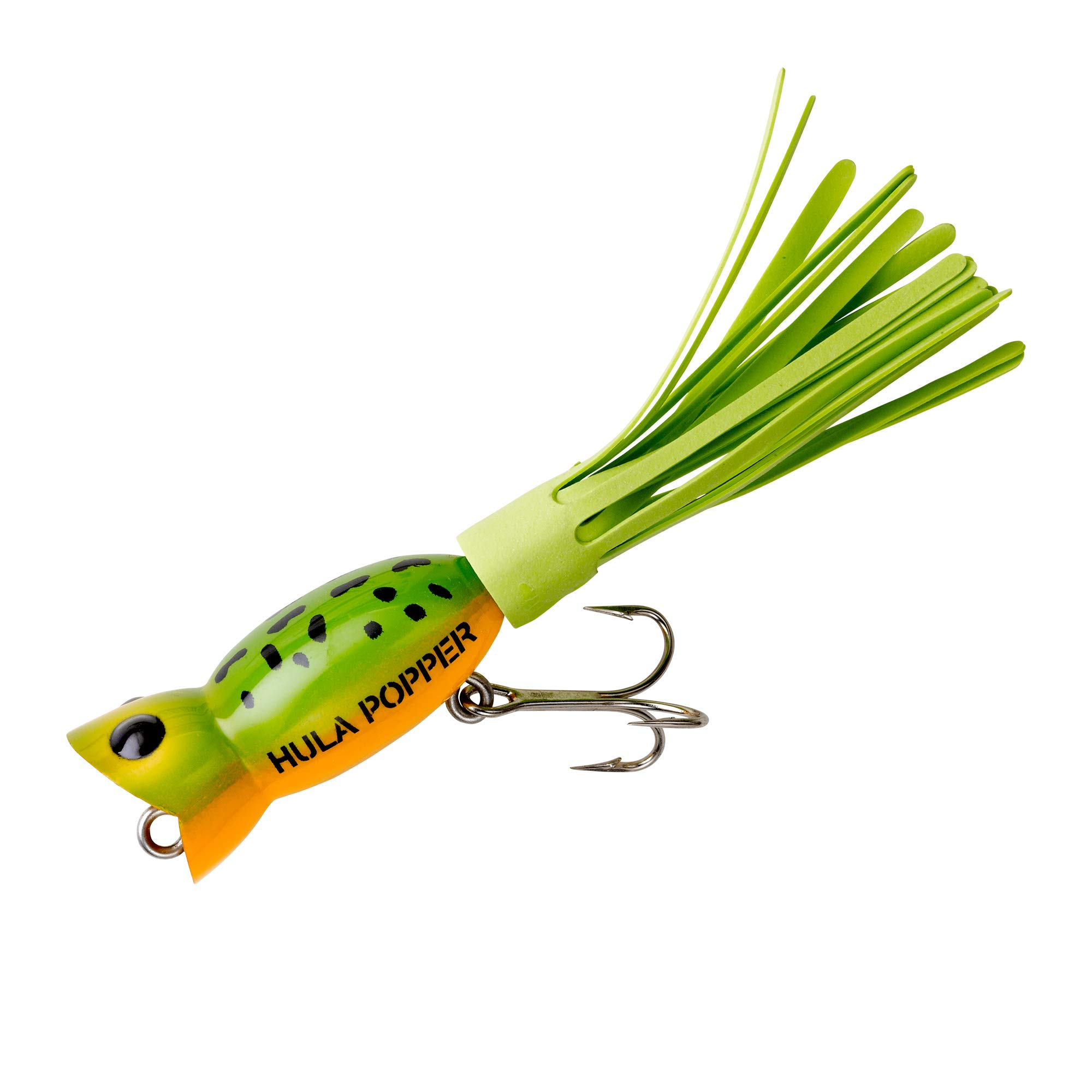 Arbogast Hula Popper Frog Yellow Belly by Arbogast