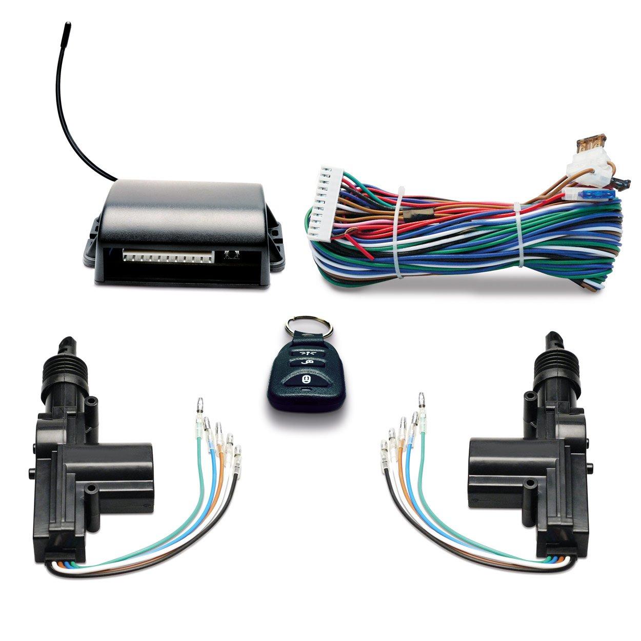 Sinustec Zentralverriegelung ZV II 24 Volt die Zentralverriegelung mit Funkfernbedienung f/ür PKW und LKW mit 24V Boardspannung
